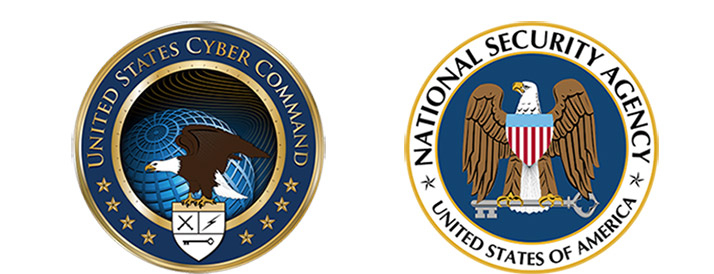 National Security Agency and US Cyber Command Logos