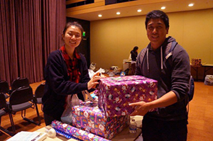 Image: Since 2007, UC San Diego's Operation Santa has provided Christmas celebrations