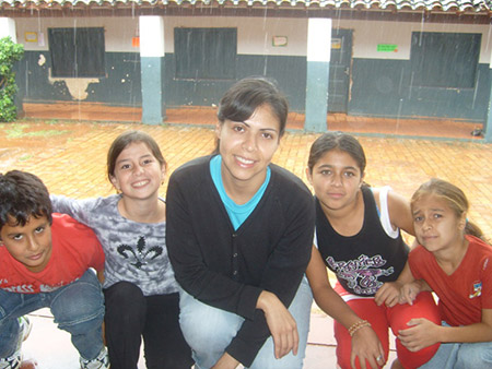Peace Corps volunteer in Paraguay