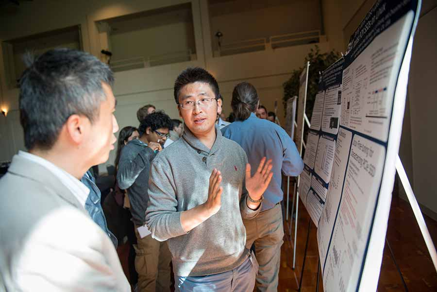 Image: NVMW inluded a poster session and tutorial