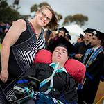 Graduating Student with Muscular Dystrophy Shows Incredible Strength to Achieve his Dreams