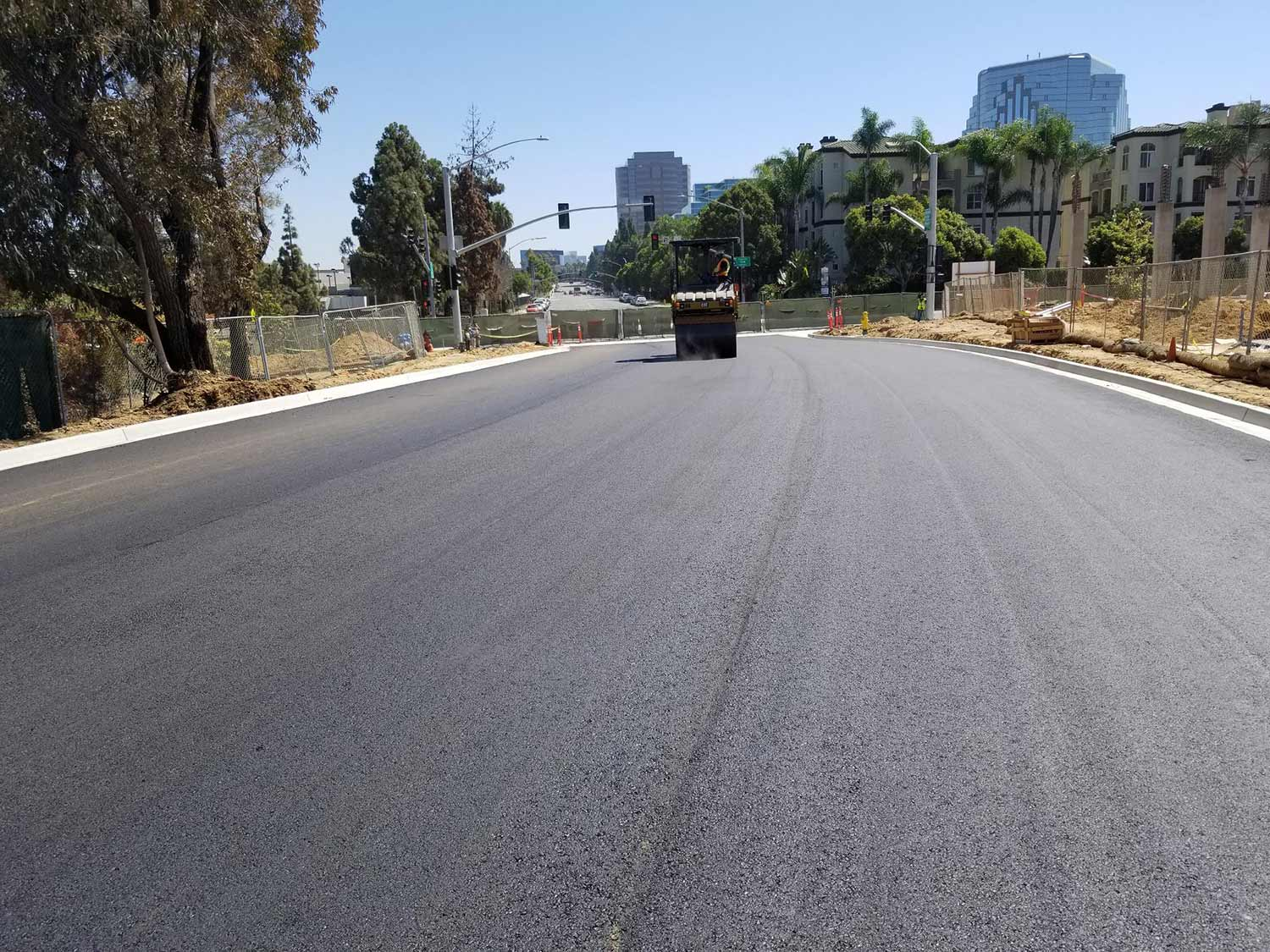 uc san diego recycled plastic road