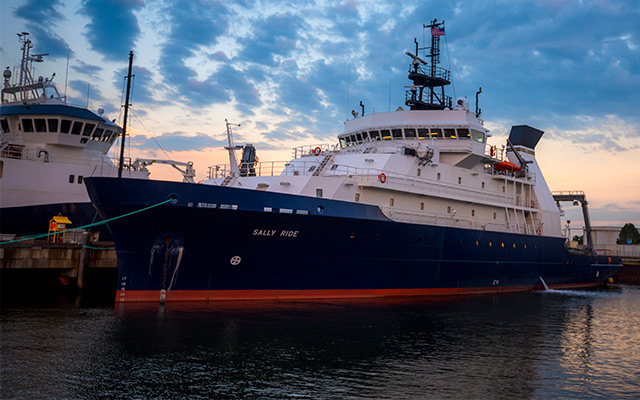 UC San Diego Hosts Free Tours of America's Newest Scientific Research Ship R/V Sally Ride