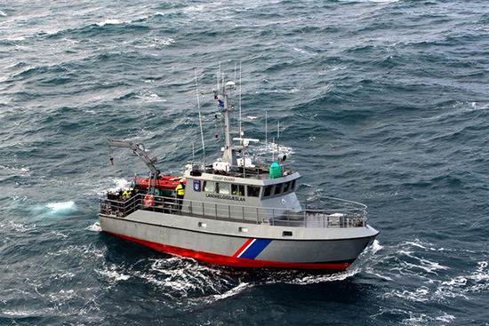 survey vessel Baldur