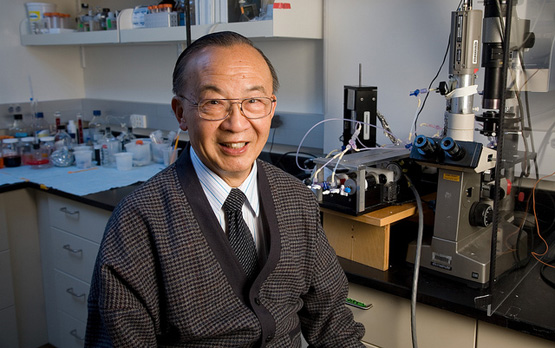 <p>Professor Shu Chien, recipient of the National Medal of Science.</p>