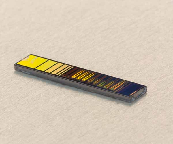 photo: silicon photonic chip