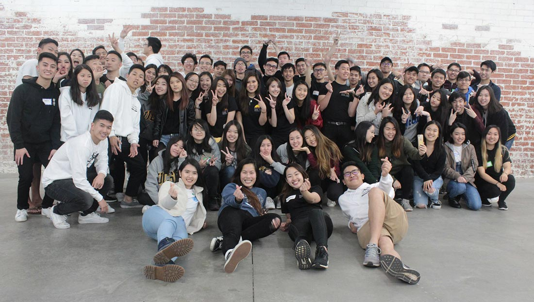 members of the Taiwanese American Student Association.
