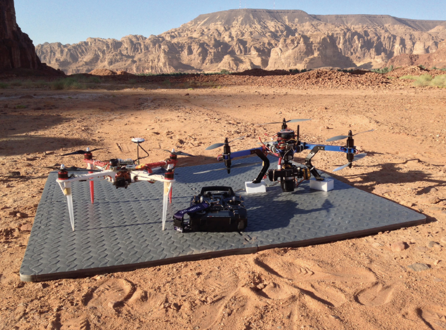 Timna Valley Drones