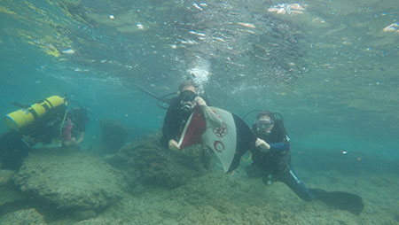 Underwater Explorers Flag 179