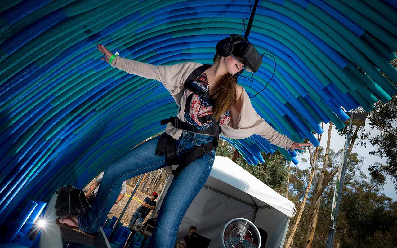 Virtual Reality, Campus Tours and Resource Fairs Showcase UC San Diego at Triton Day