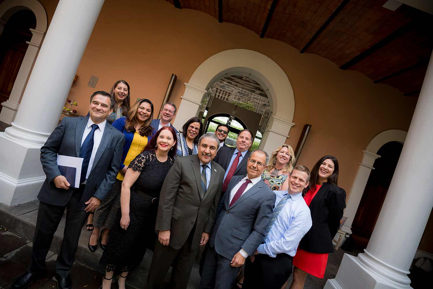 UC San Diego leadership and faculty in Mexico City