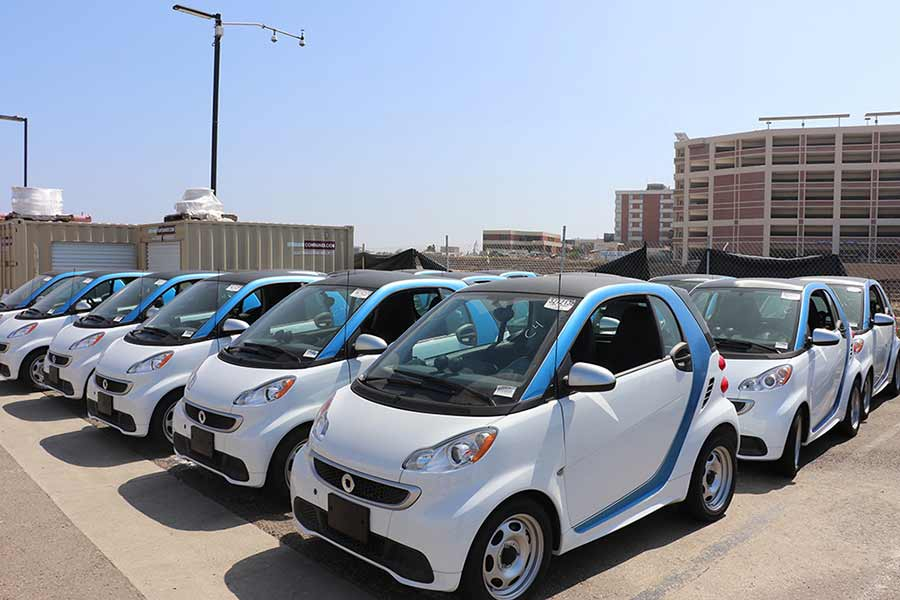 ev driver cars at uc san diego