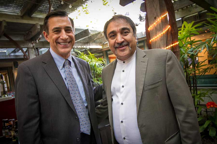 UC San Diego Veteran Entrepreneur Initiatives, Darrell Issa and Pradeep Khosla