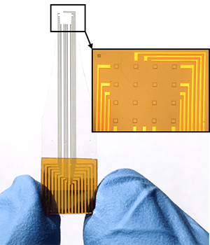 low-impedance graphene electrode