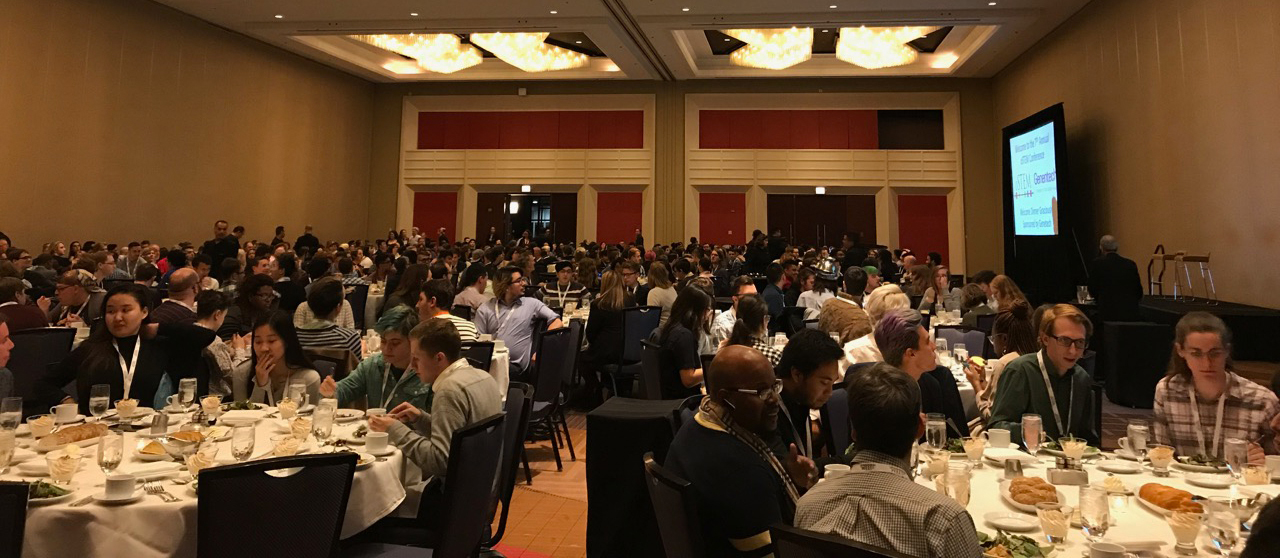 Roughly 800 people attended the final dinner at the oSTEM conference in Chicago.