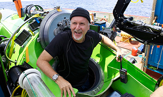 James Cameron supports Scripps