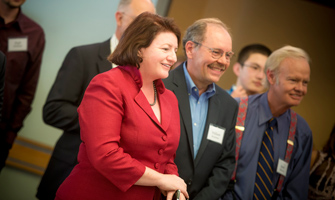 Campus Welcomes Toni Atkins