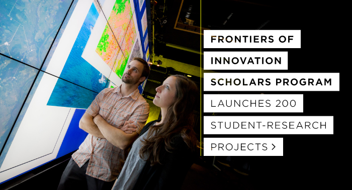 Frontiers of Innovation Scholars Program