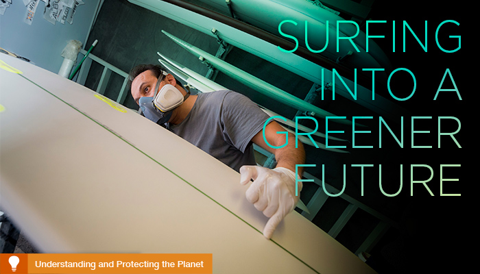 Surfing into a Greener Future