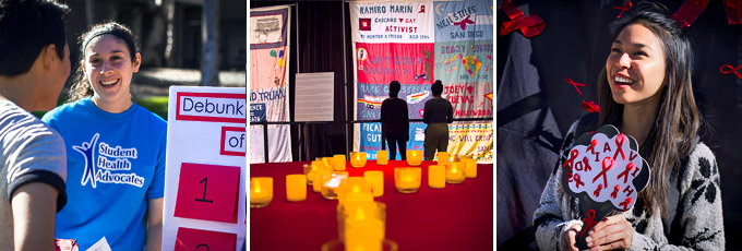 UC San Diego Recognizes World AIDS Day