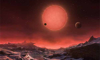 Planets Found Orbiting a Tiny Nearby Star