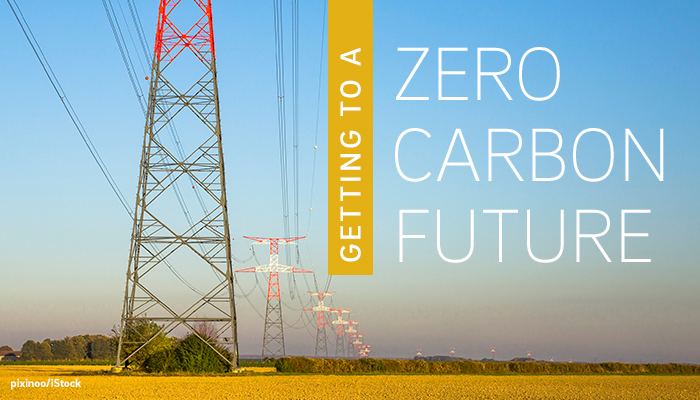 Getting to a Zero Carbon Future