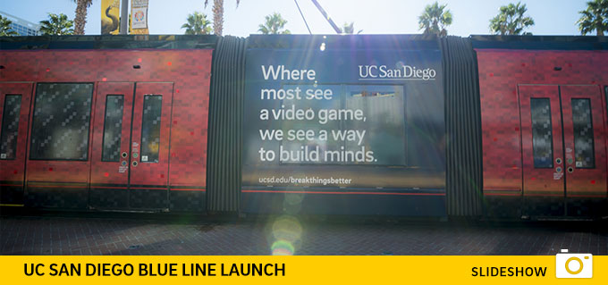 UC San Diego Blue Line Launch