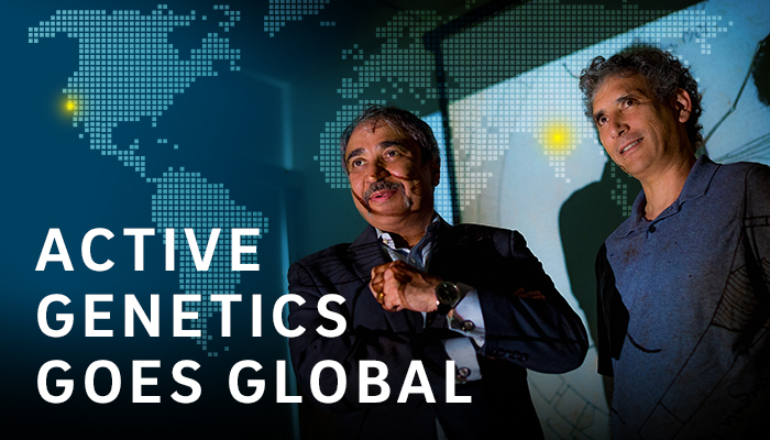 Active Genetics Goes Global