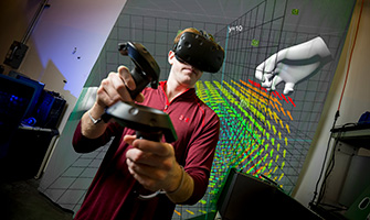 Nanoscale virtual reality