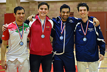 Fencing Team Earns a Victory and Three Podium Finishes at San Diego Open