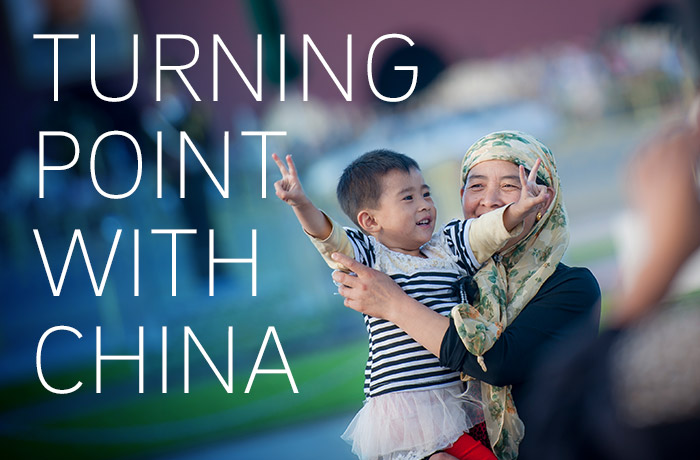 Turning Point with China