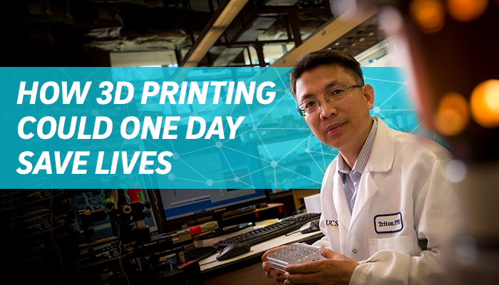 How 3D Printing Could One Day Save Lives