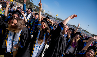 The Dalai Lama Gives Keynote Address at UC San Diego Commencement