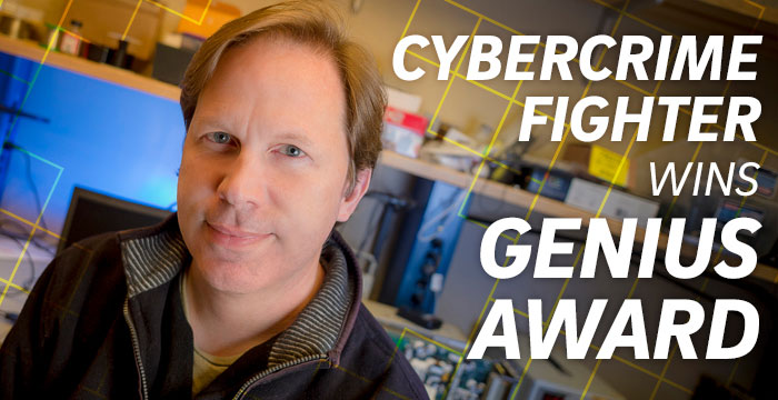 Cybercrime Fighter Wins Genius Award