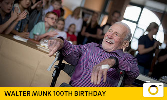 Walter Munk 100th birthday