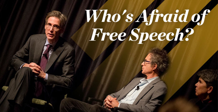 Who's Afraid of Free Speech?