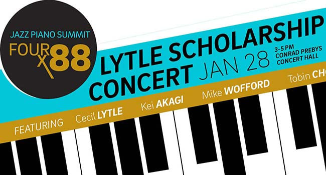graphic for Lytle Scholarship Concert