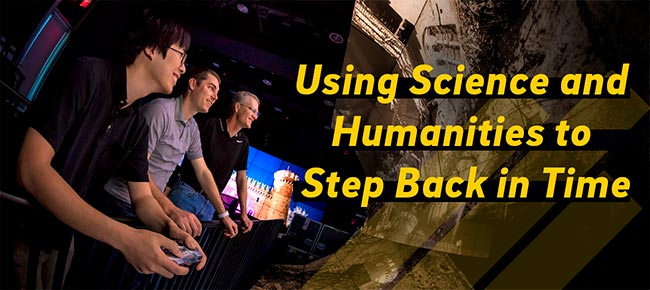 Using Science and Humanities to Step Back in Time