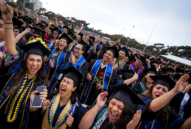 UC San Diego 2018 Commencement registration
