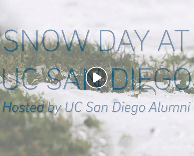 Snow Day at UC San Diego