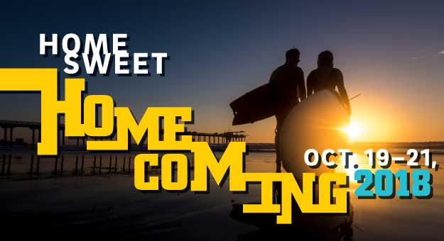 Home Sweet Homecoming Oct. 19-21, 2018