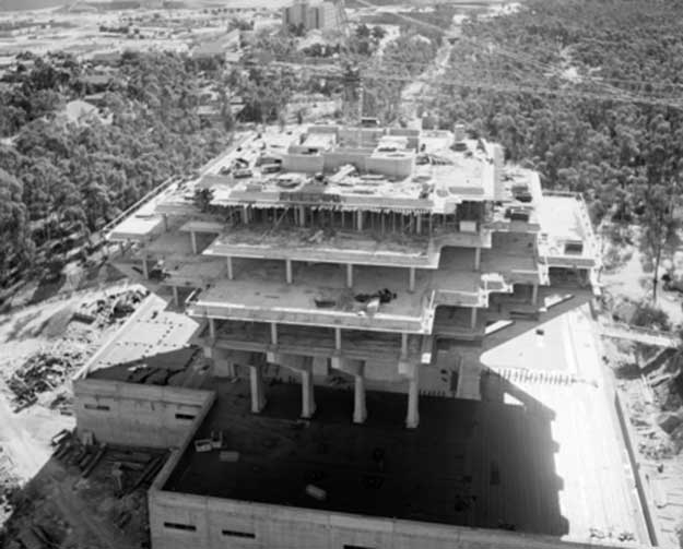 archival image of Geisel Library