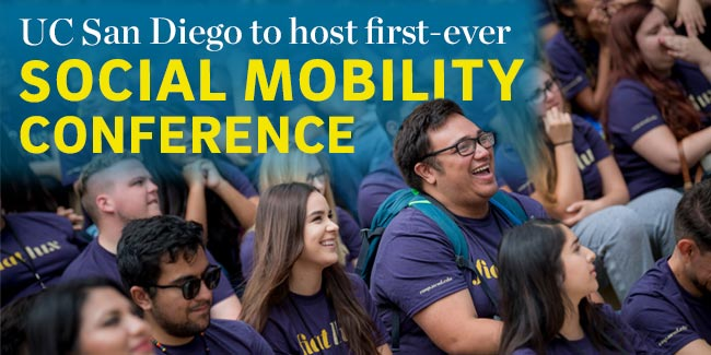 UC San Diego to host first-ever social mobility conference