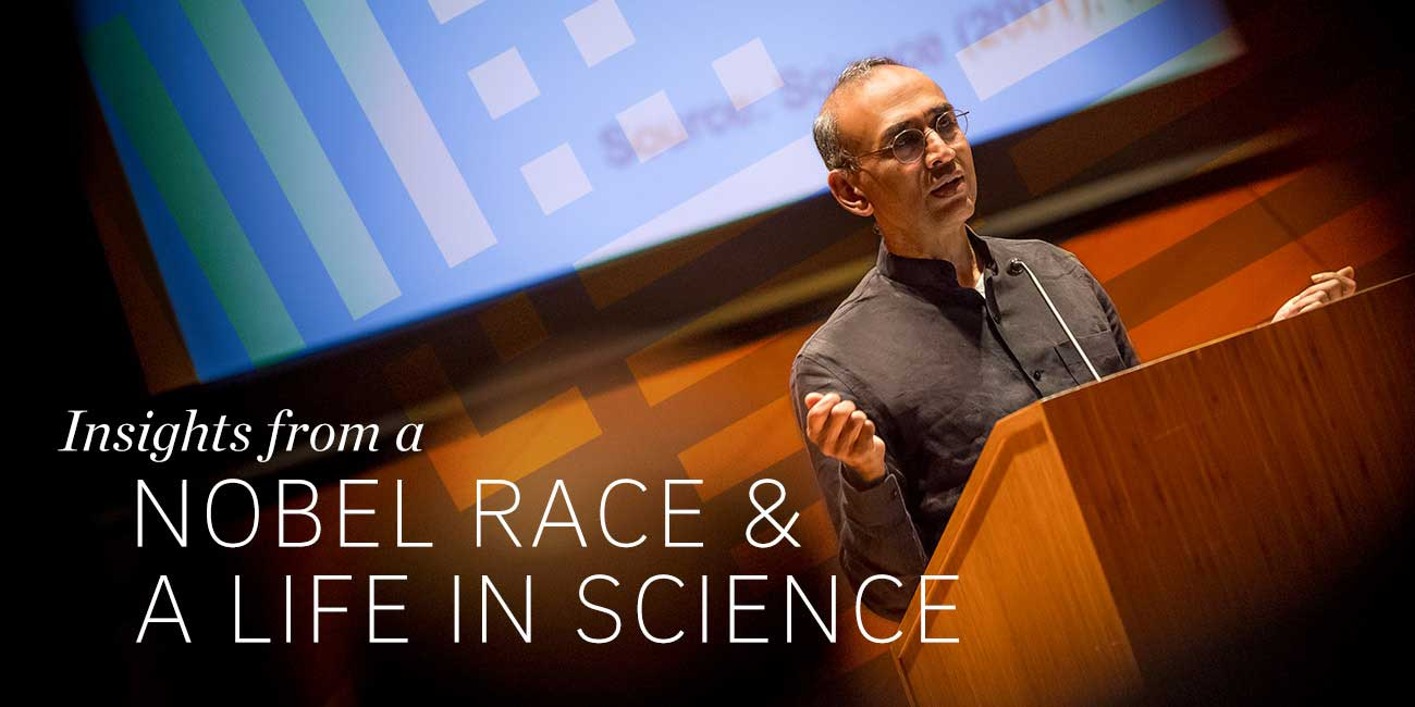 Insights from a NOBEL RACE & A LIFE IN SCIENCE