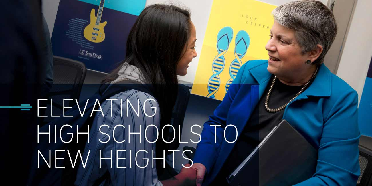 ELEVATING HIGH SCHOOL TO NEW HEIGHTS