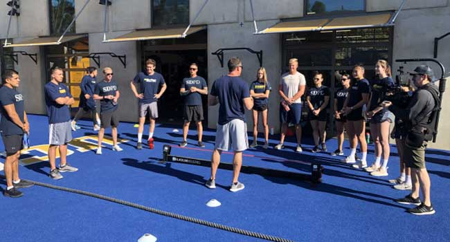 UCSD Athletics with San Diego Police Department