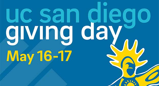 UC San Diego Giving Day May 16-17