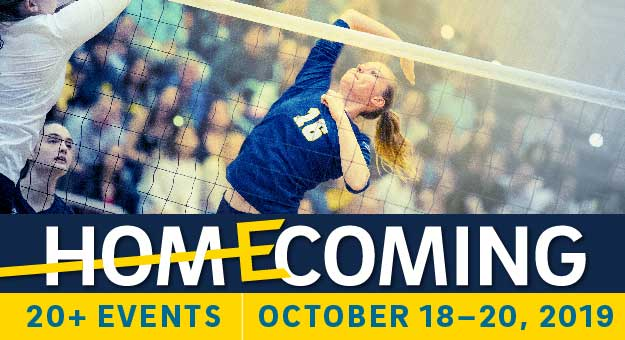 HOMECOMING | Oct. 18-20, 2019 | 20+ events