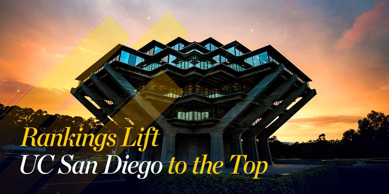 Rankings Lift UC San Diego to the Top