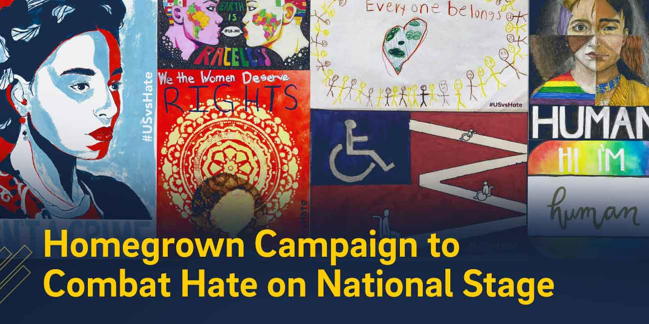 Homegrown Campaign to Combat Hate on National Stage
